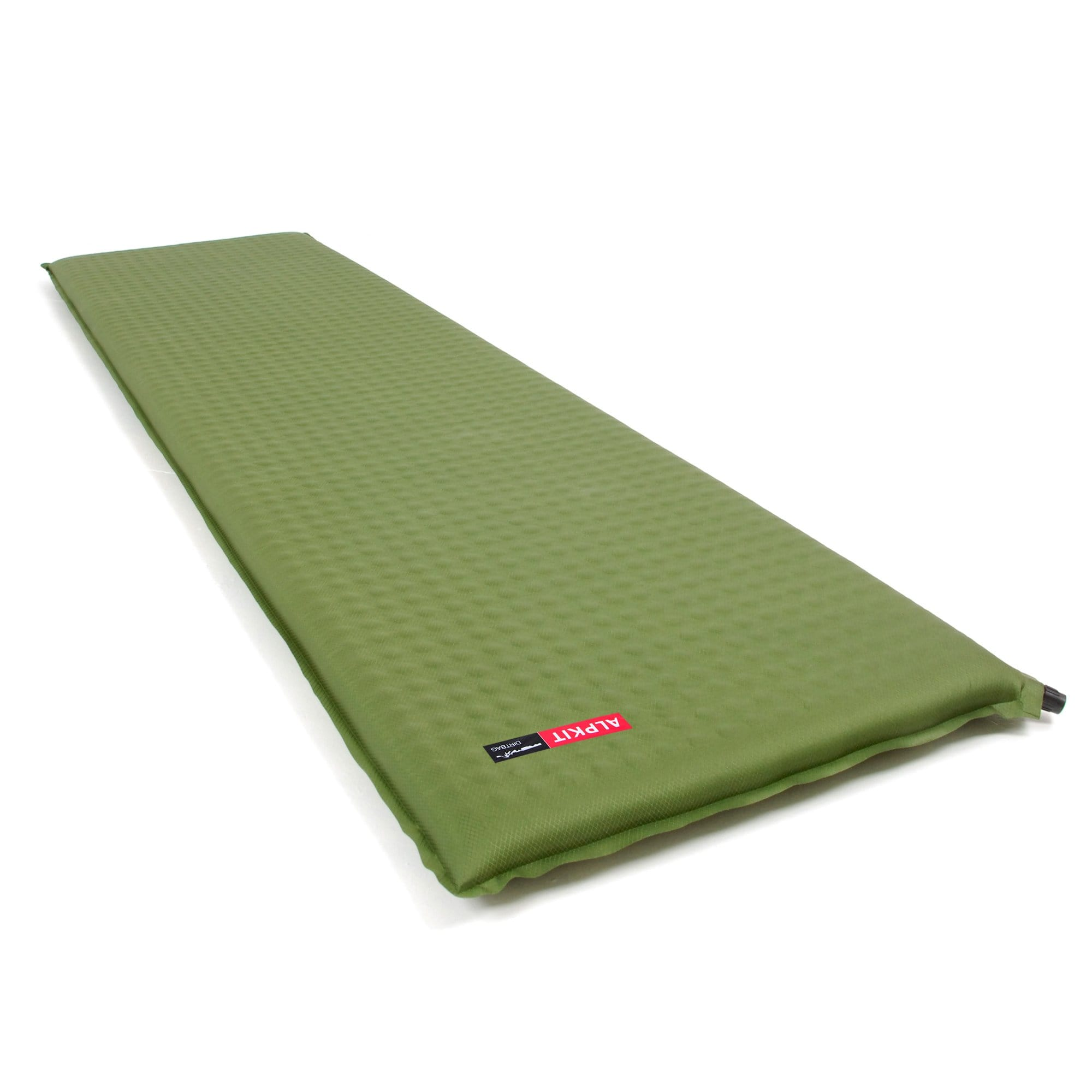 A Dirtbag self-inflating sleeping mat fully inflated