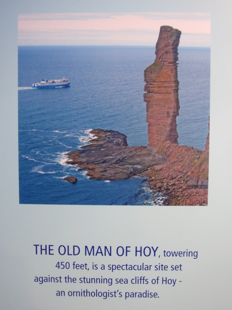 Postcard from the Old Man of Hoy