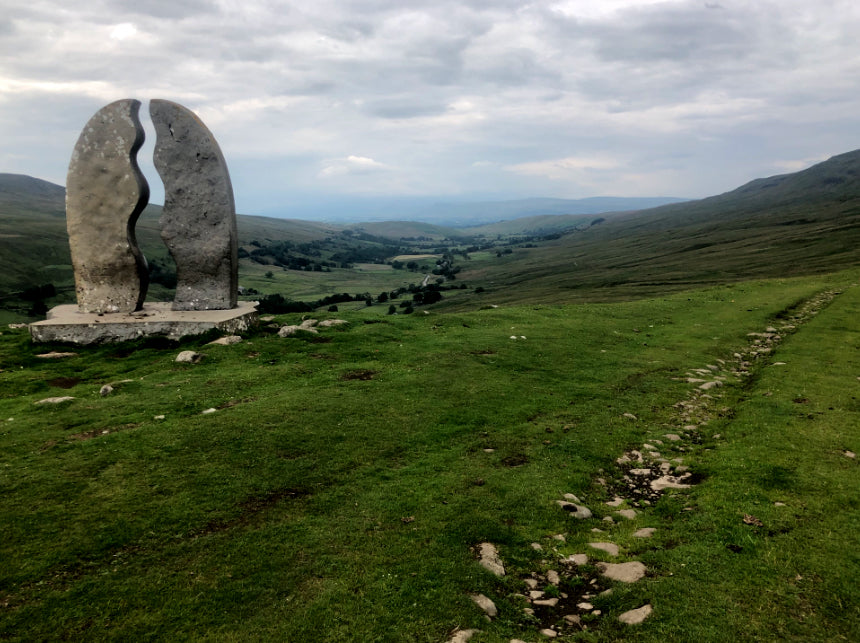 End of the Pennine Bridleway in sight