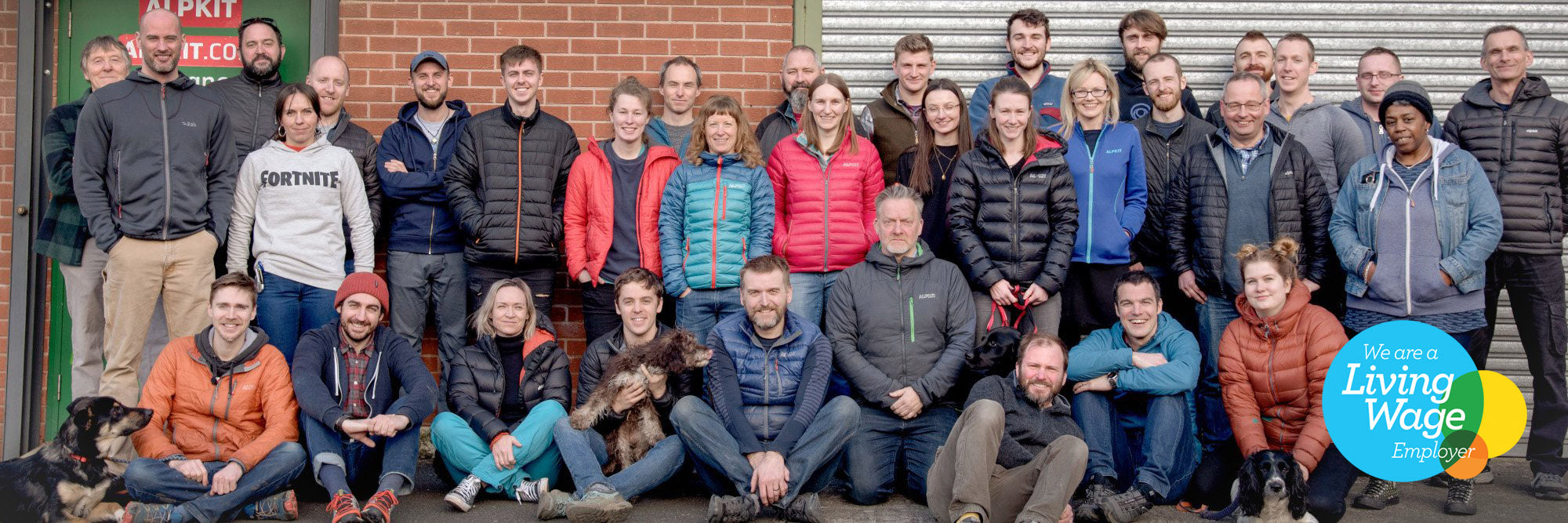 Alpkit Living Wage Team Shot