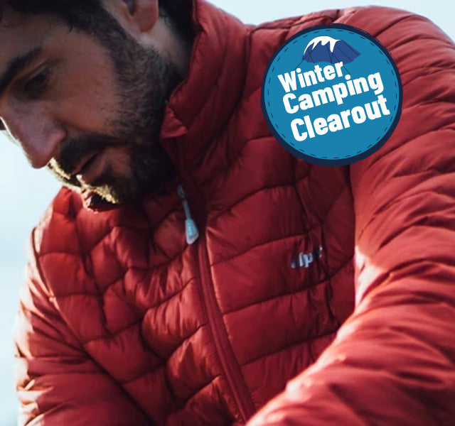 Men's Down Jackets and Synthetic Insulation