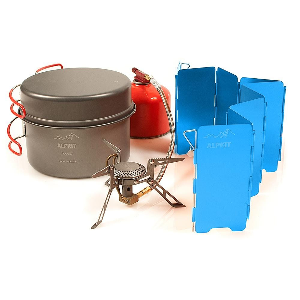 Lightweight Backpacking Cook Set