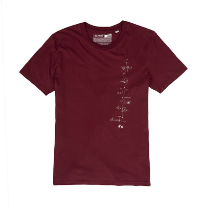 CWAKROUT-BRG-01-route [mens] burgundy