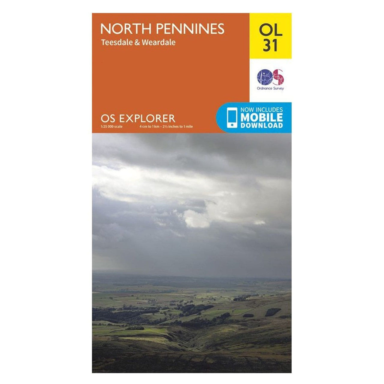 OS Explorer Maps: North Pennines - Teesdale and Weardale