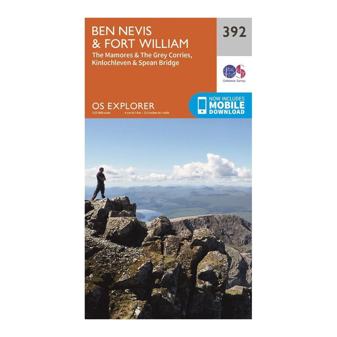 OS Explorer Maps: Ben Nevis and Fort William
