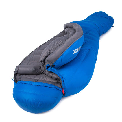 Arcticdream 1200 hydrophobic 4 season sleeping bag in blue