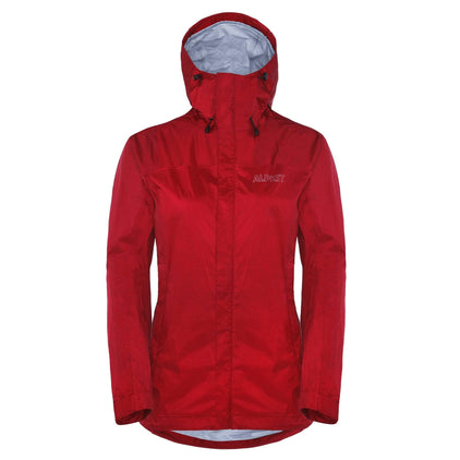 Women's Agonaut waterproof jacket in chilli red