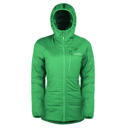 womens katabatic synthetic insulation jacket in reef