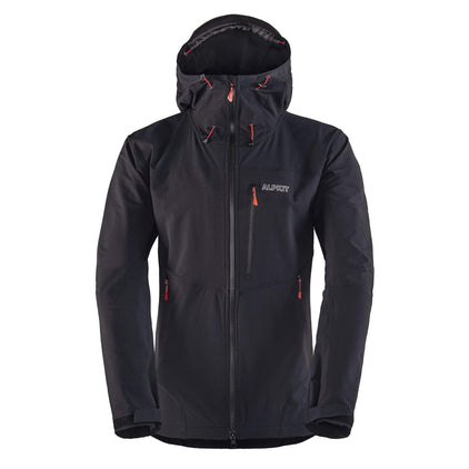 mens resolute softshell jacket in brick