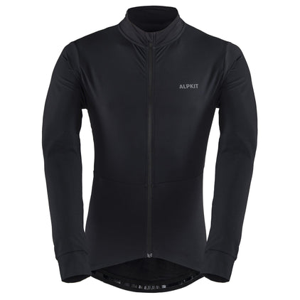 TCAKRHYLSM-BLK-01-rhythm thicky cycling jersey [mens] black