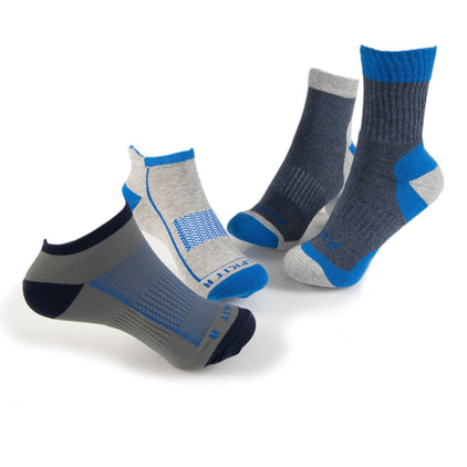 TCAKSKMP-BLG-01-ak multi activity sock range pack blue and grey