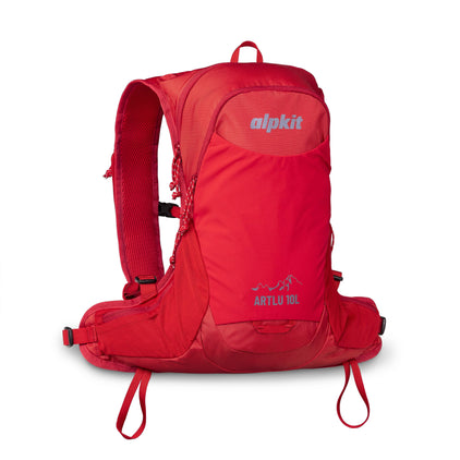 alpkit artlu 10L running pack in chilli