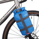Betonga bikepacking fork bag in blue