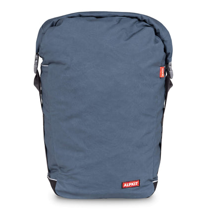 Alpkit caledonian 20 pannier bag in denim