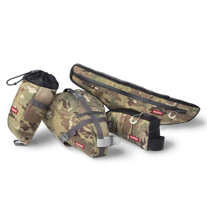 Camo Bikepacking Frame Bag Bundle 01