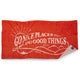 gnpdgt go nice places do good things beach towel