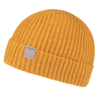 alpkit idwal beanie in maize