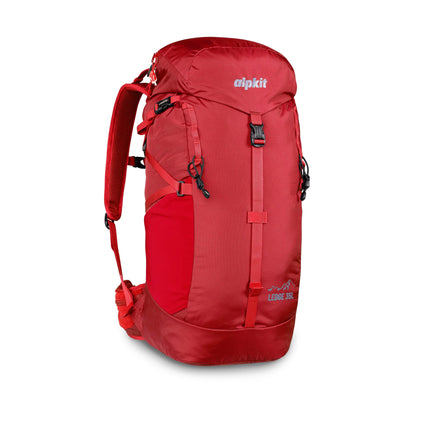 Alpkit Ledge 35l pack in chilli