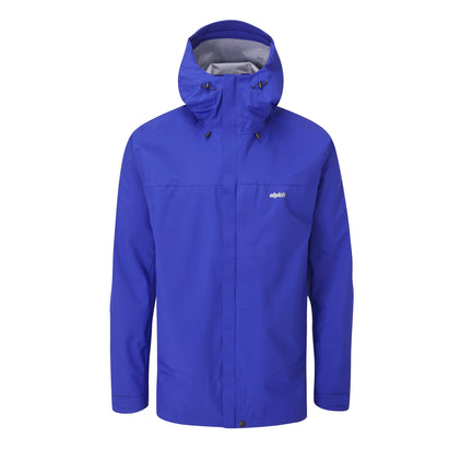 mens Alpkit fortitude waterproof jacket in fonteinbleau