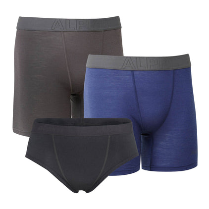 Kepler Merino Boxer And Brief Bundle [Mens]
