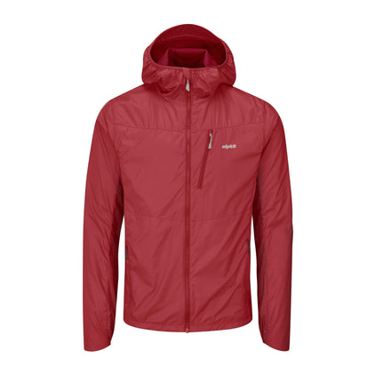 mens alpkit morphosis jacket in chilli