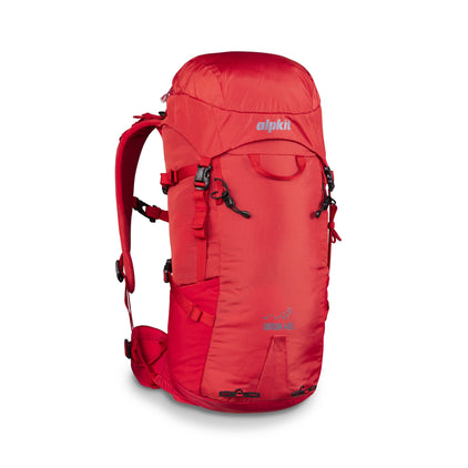 Alpkit Orion 45l pack in chilli
