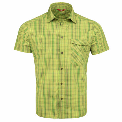 mens ortega shirt in verde