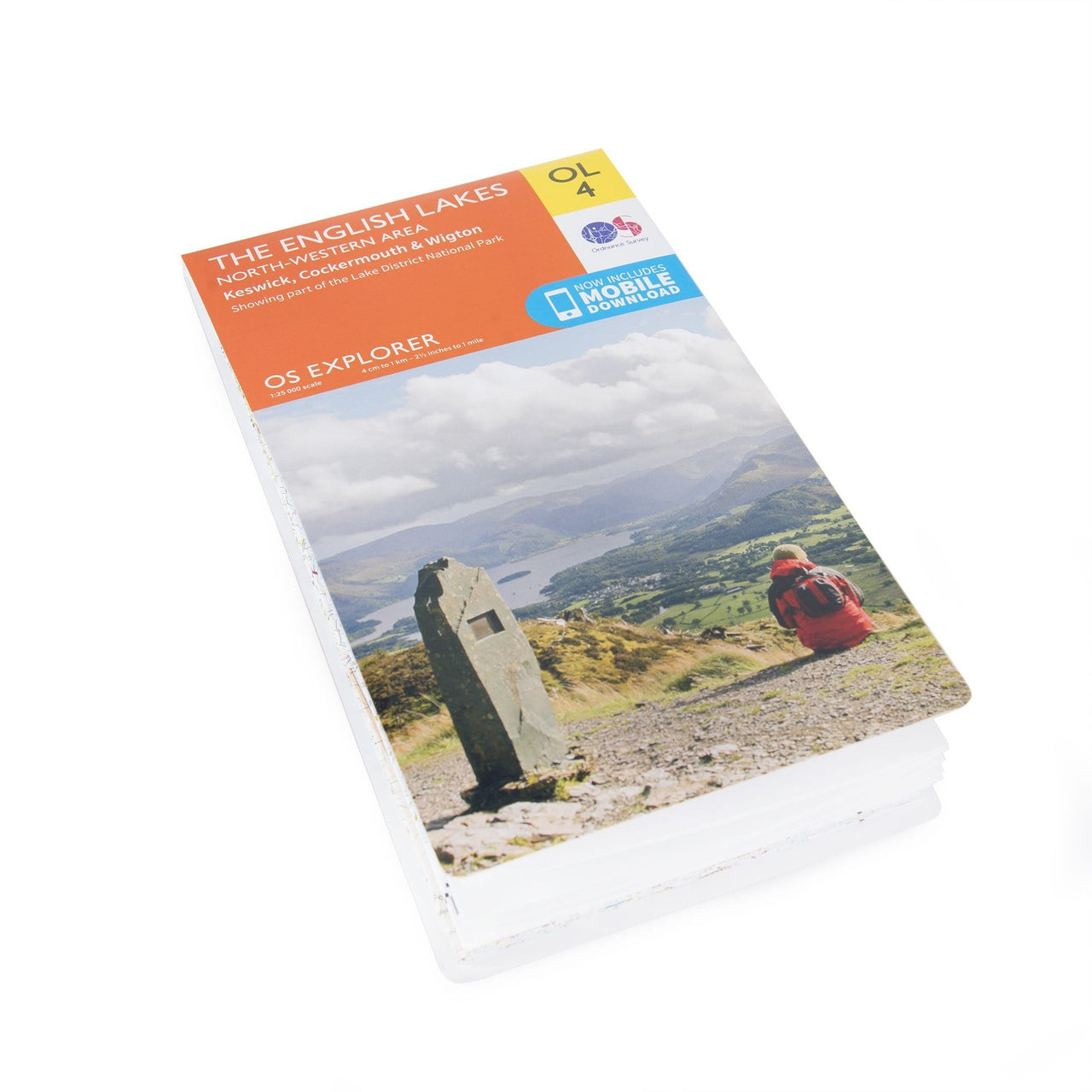 OS Explorer Maps: The English Lakes - North West