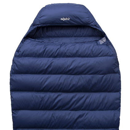 Pipedream 200 lightweight 2 season sleeping bag in blue