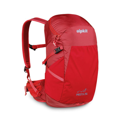 Alpkit presta 25l pack in chilli