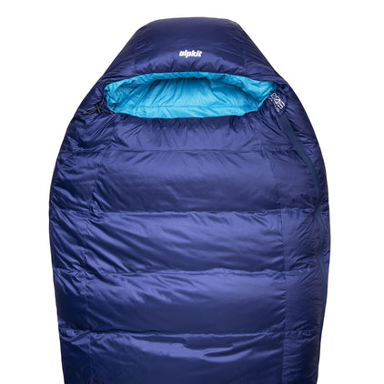 skyehigh 500 down sleeping bag in nemo