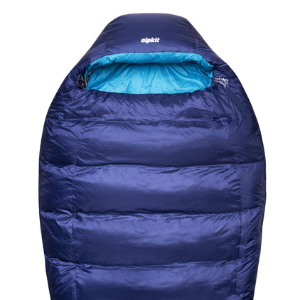 skyehigh 900 down sleeping bag in demo