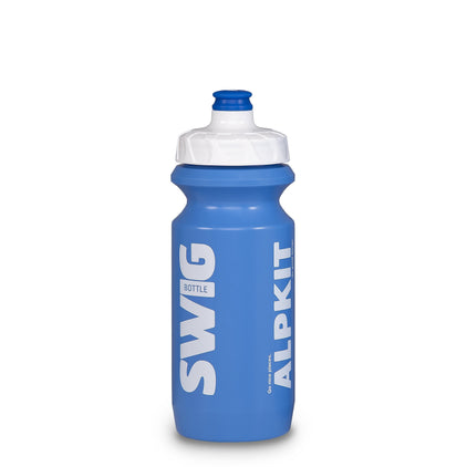 alpkit swig bottle in blue 600ml and 750ml