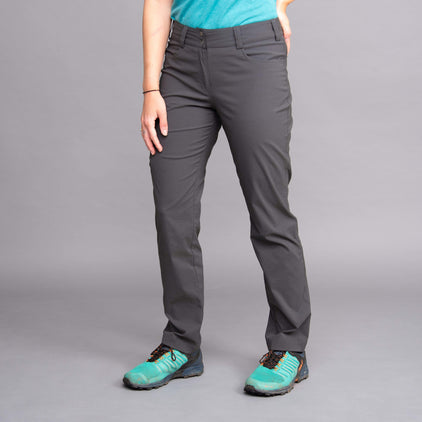 womens teleki pant trouser in tarmac