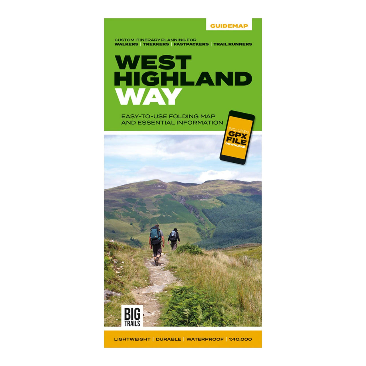 West Highland Way Guide Map