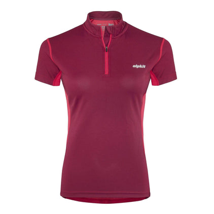 Koulin Trail Tee Zip [Womens]