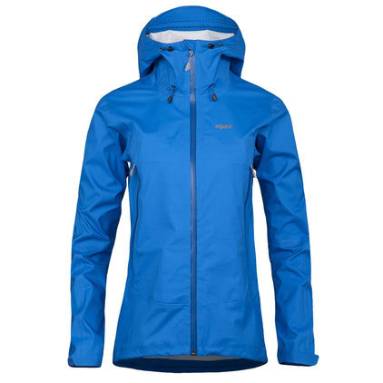 Women's Balance breathable waterproof jacket in lego blue