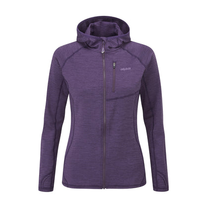 womens griffon fleece in plum