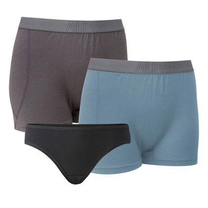 Kepler Merino Boxer And Brief Bundle [Womens]
