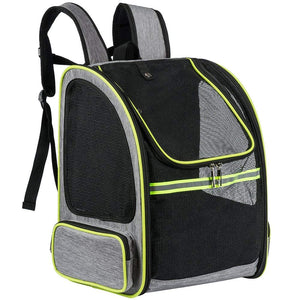 """The True Adventurer Cat"" Breathable Mesh Cat Backpack"
