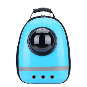 """The Adventurous Traveling Cats"" Elegant Cat Backpacks"