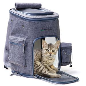 """The Traveler Cat"" Cozy & Comfy Cat Backpack"