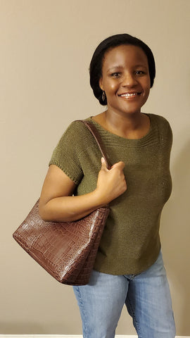 Geometric Hobo Handbag PDF Sewing Pattern