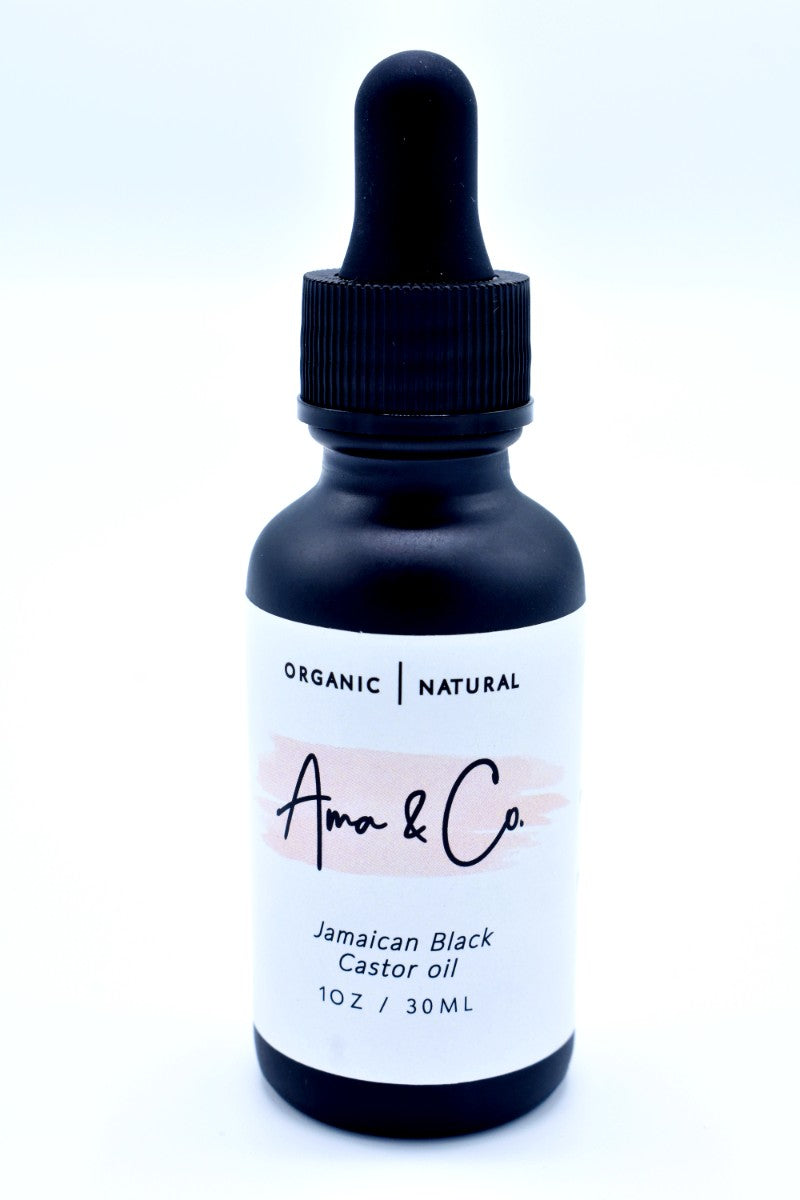 AMA & CO 100% Pure Jamaican Black Castor Oil  (1 Oz) - Kulcha Kernel