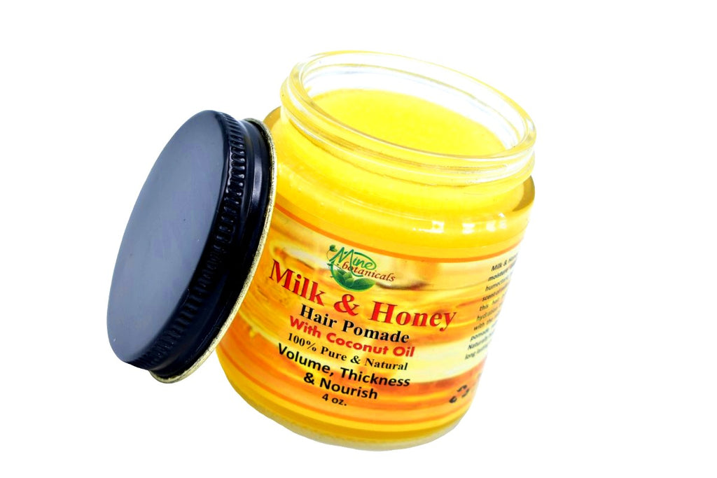 100% Organic Milk & Honey  Hair Pomade with Coconut Oil - Kulcha Kernel