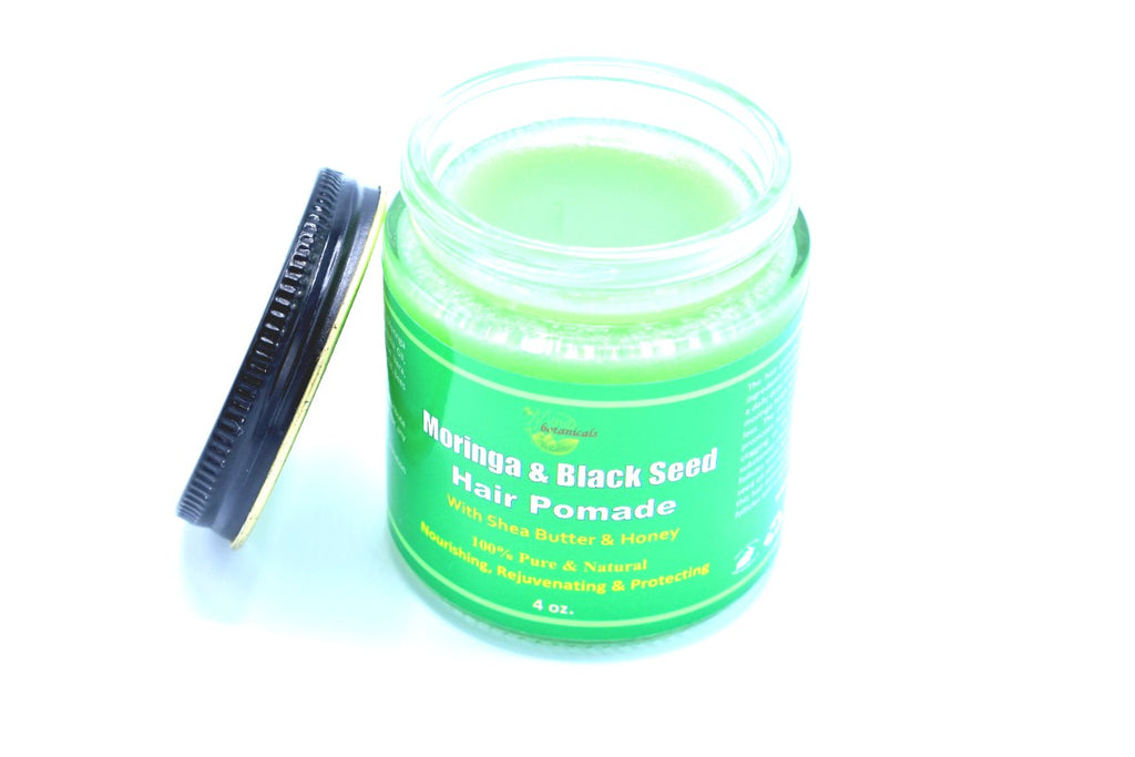 100% Organic Moringa & Black Seed  Hair Pomade with Shea Butter & Honey - Kulcha Kernel