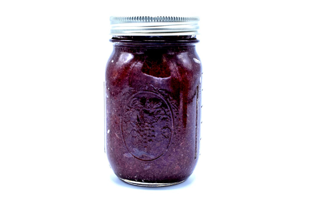 100% Wild Crafted Sea Moss Gel infused with Elderberries (16 Oz Jar) - Kulcha Kernel