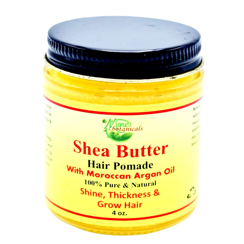 Organic Shea Butter Hair Pomade with Moroccan Argan Oil - Kulcha Kernel