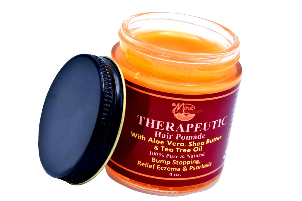 100 % Organic Therapeutic Hair Pomade with Tea Tree, Raw Shea Butter & Aloe Vera - Kulcha Kernel