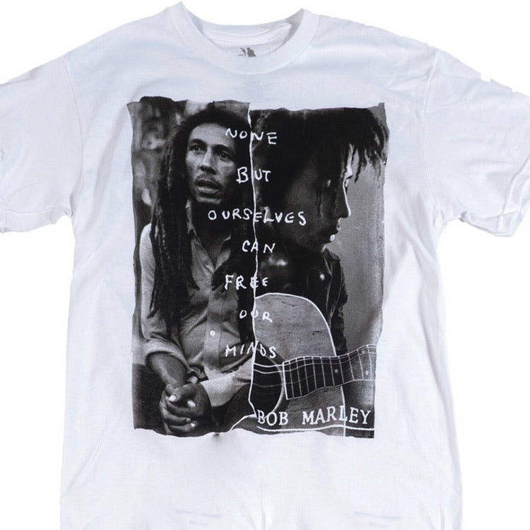 Bob Marley Free Our Minds - T Shirts. - Kulcha Kernel